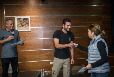 אסף הורוויץ מעניג מלגה לנתליה פיטוסי
